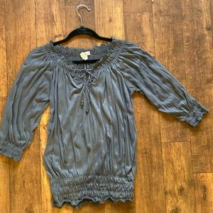 Sauci Tops - SOLD!!  Sauci Slate Grey Top